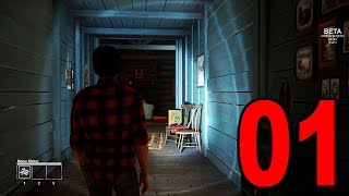 Friday the 13th The Game - Part 1 - THIS IS SO SCARY [Beta Gameplay]
