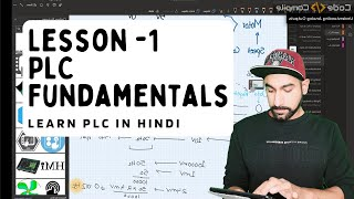 Lesson 1 - PLC Basic Fundamentals and Wiring (Hindi)