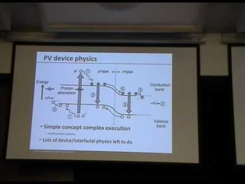 Transparent Contact Materials & Implications for Next Generation PV  Architectures II - J. Berry