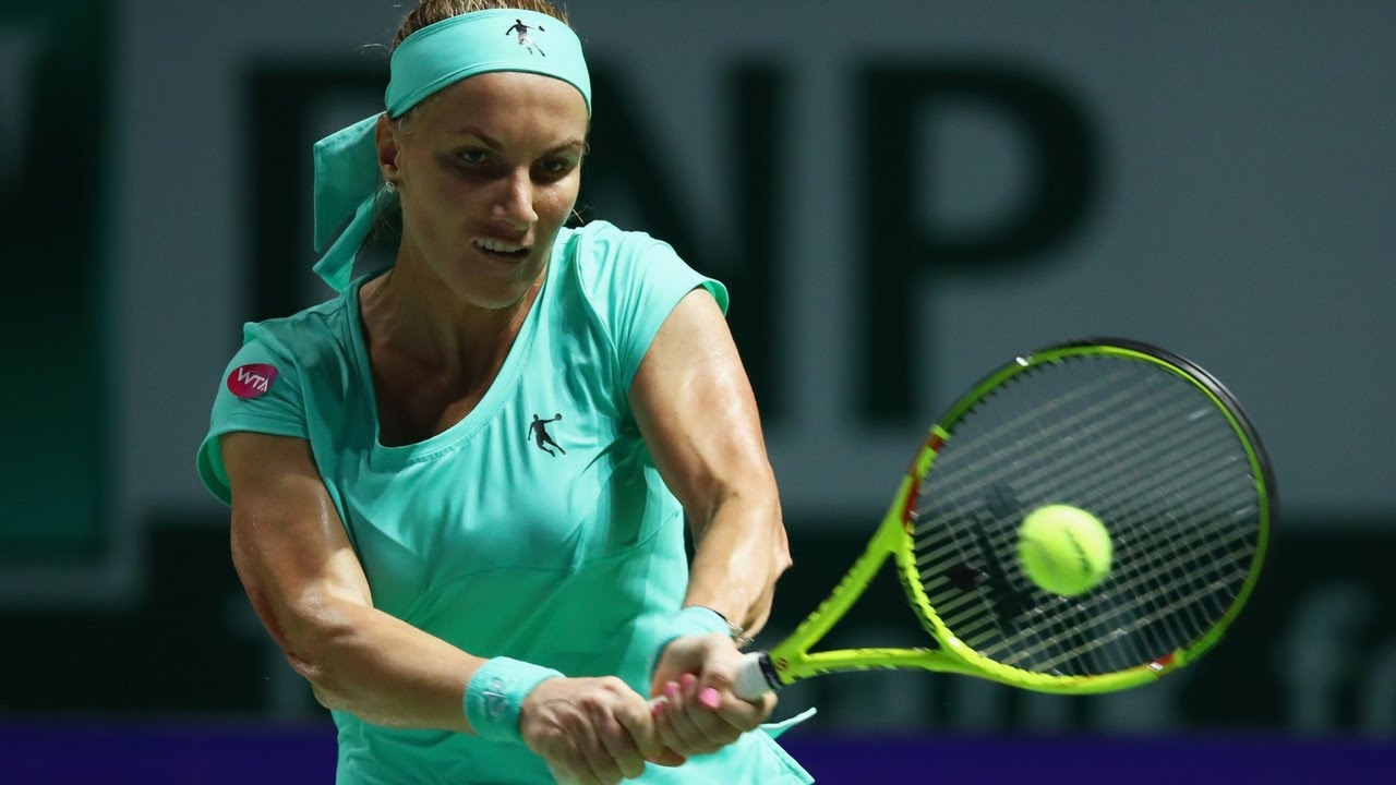 2016 WTA Finals Singapore Day 6 Shot of the Day