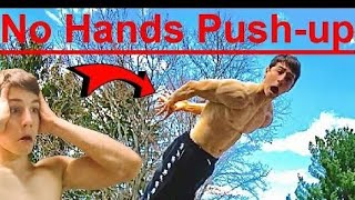 No Hands Push up can you do one rep?
