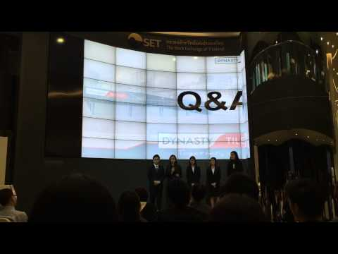 2015 CFA Institute Research Challenge in Thailand Local Final : Thammasat University Q&A