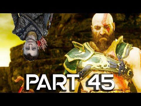 God of War 4 Walkthrough Part 45 - Niflheim - GOD OF WAR GAMEPLAY!! (PS4 PRO 60FPS) - 동영상