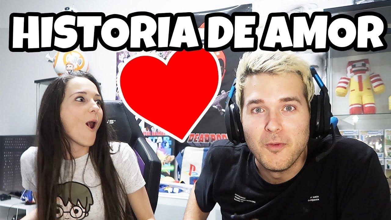 LA HISTORIA DE AMOR MAS BONITA CON VIOLETA! - YouTube