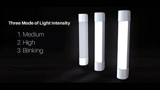 Lite House - Emergency Light with 4400mAh Power Bank