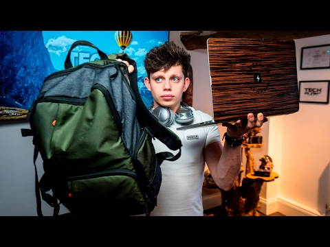 Alex's Ultimate Travel Tech Bag!