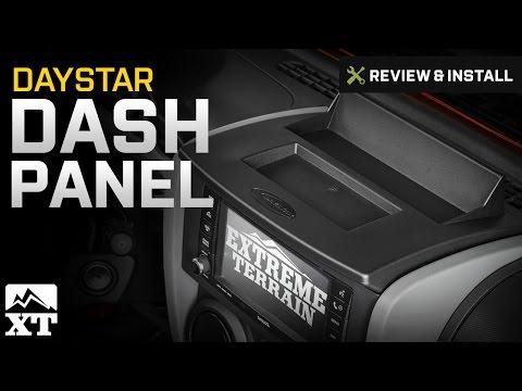Jeep Wrangler Daystar Dash Panel (2007-2010 JK) Review & Install