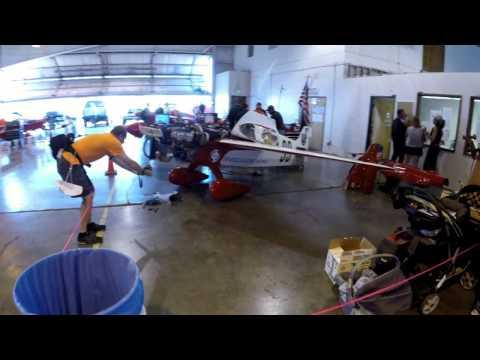 Kevin Lacey - 2014 Formula One Hangar Tour at Reno Air Races