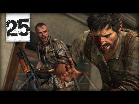 "The Last of Us Gameplay Walkthrough Part 25 ""Hotel Lobby"" (PS3 Let's Play Campaign HD)"