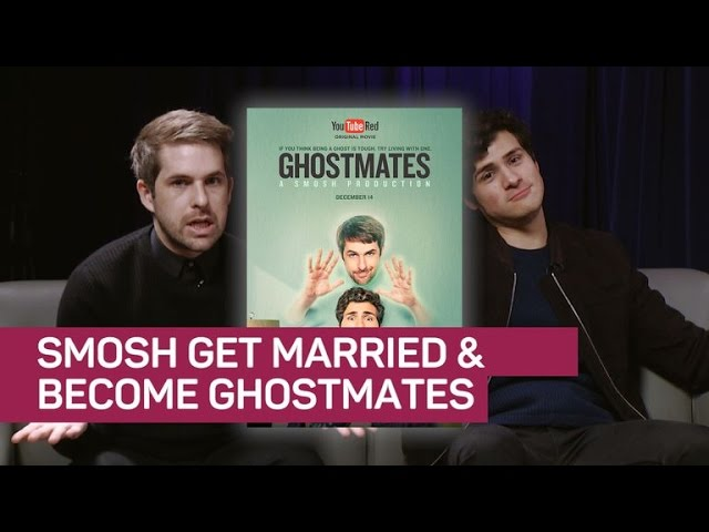 A Smosh wedding! We put 'Ghostmates' stars to the test #1