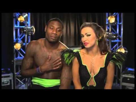 Jacoby Jones & Karina Smirnoff - DWTS Confessionals