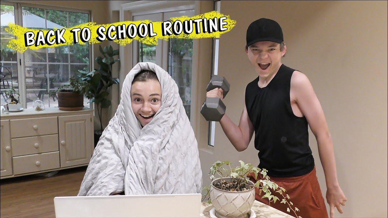 BACK TO SCHOOL ROUTINE | We Are The Davises