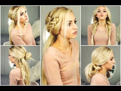5 EASY Everyday Hairstyles | Clip In Hair Extensions, My Fantasy Hair