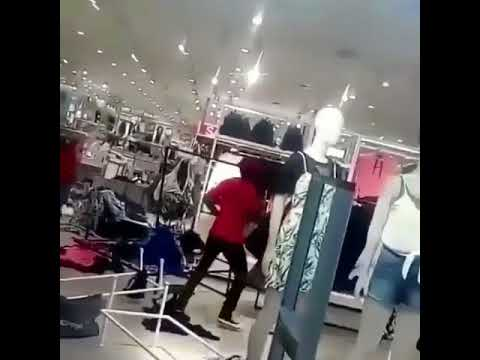 H&M store ravaged over protest over kid sweatshirt