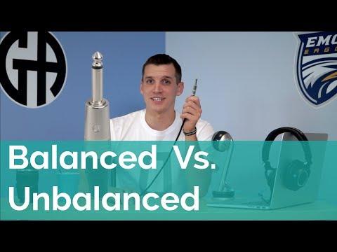 Balanced vs. Unbalanced Audio Cables thumbnail