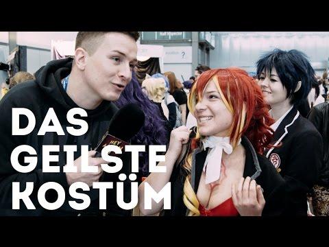 Das geilste Kostüm mit viel Pöbeln - Manga Comic Con Leipzig 2016