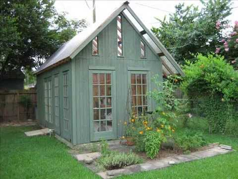 Garden Shed Designs | Garden Shed Base Ideas - Youtube