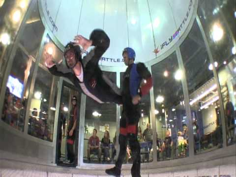 Commerce interns indoor skydyving at iFly Seattle