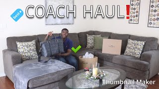 COACH HAUL & UNBOXING | PURCHASING A LUXURY ITEM