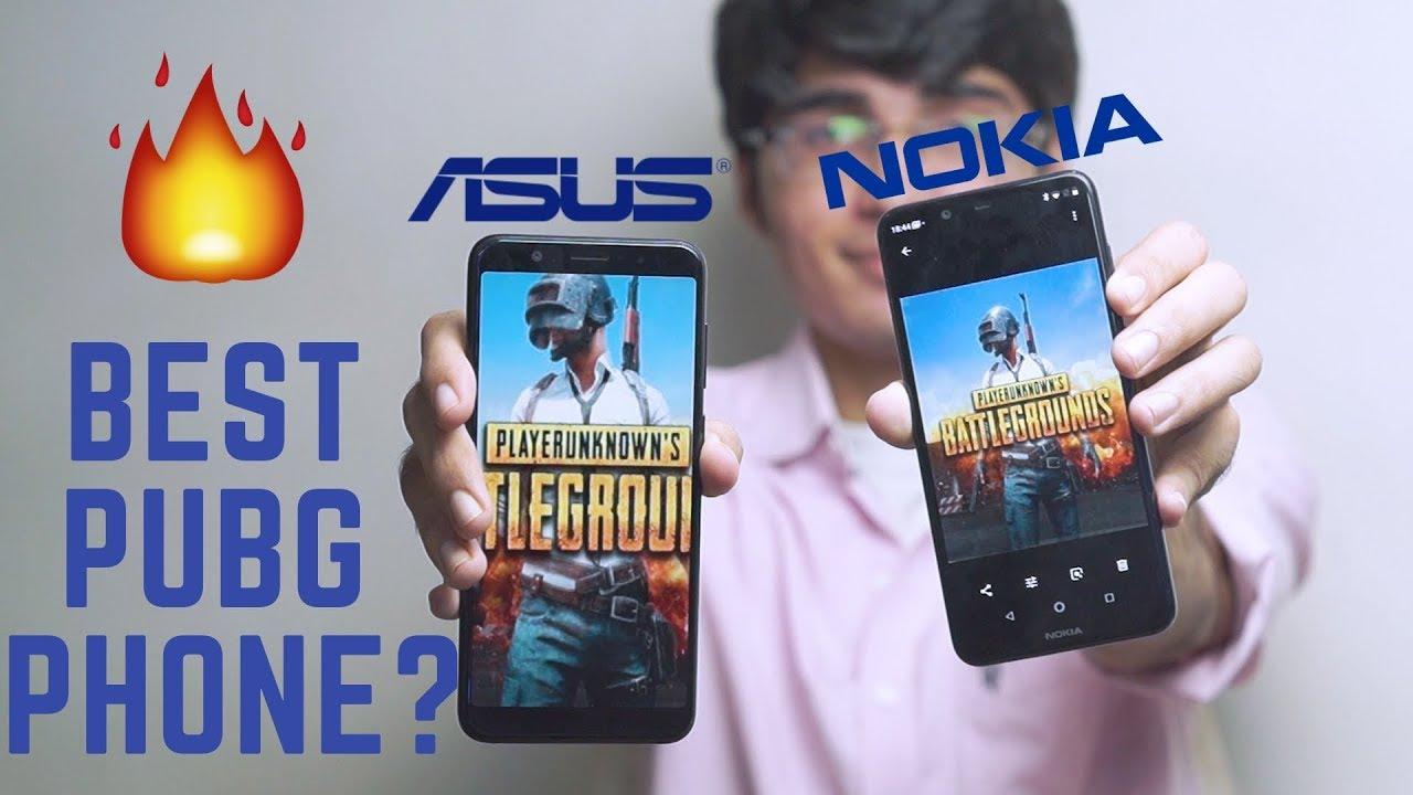 BEST PUBG PHONE? NOKIA 5.1 PLUS PUBG HD GAMEPLAY
