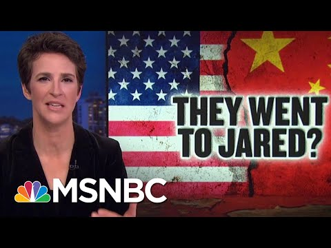 Rex Tillerson Parroted China Talking Points Written By Jared Kushner: book | Rachel Maddow | MSNBC