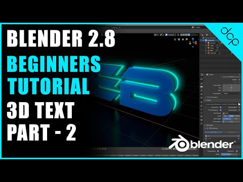 Download Blender 2 8 3d Text Animation Studio Lighting Tutorial