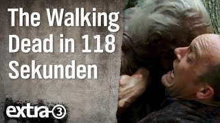 The Walking Dead in 118 Sekunden