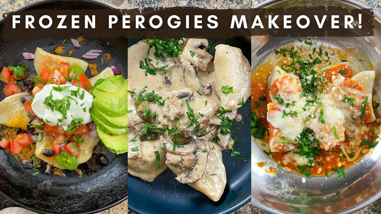 5 Recipes with Frozen Perogies!