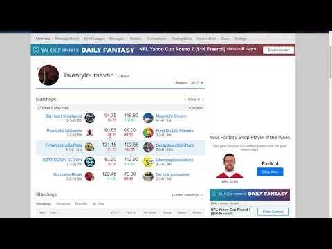 Money League Week 6 Review