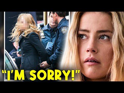 Amber Heard parle d'avoir été condamnée à 4 ans de prison !