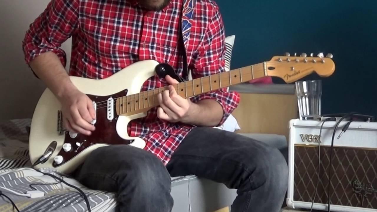 Always Bon Jovirichie Sambora Guitar Solo Cover Youtube