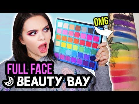 OMG... die BESTE bunte Palette?! 😱🌈 - Full Face Using Only BEAUTY BAY!