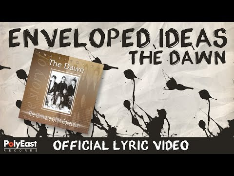 The Dawn - Enveloped Ideas - (Official Lyric Video) - 동영상