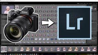 Sony A7III - Import RAW files into Adobe Lightroom FIX  for windows