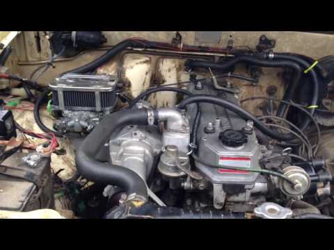 Supercharged Built 22r First Start Run High Boost And Outlaw Cam