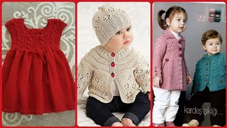 Top Stunning And Elegant Baby Crochet Hand Made Knitting Sweater Designs
