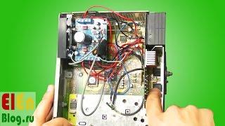 TDA7850 bo'yicha standart lenta bir yozuvchisi ichida BM54 amplifier Replaceable.