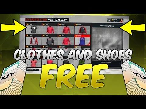 NBA 2K17:  Free Clothes And Shoes Glitch Tutorial | *NEW* 2K Sports Store Glitch