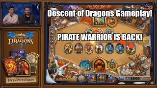 Descent of Dragons Gameplay!  PIRATE WARRIOR IS BACK!