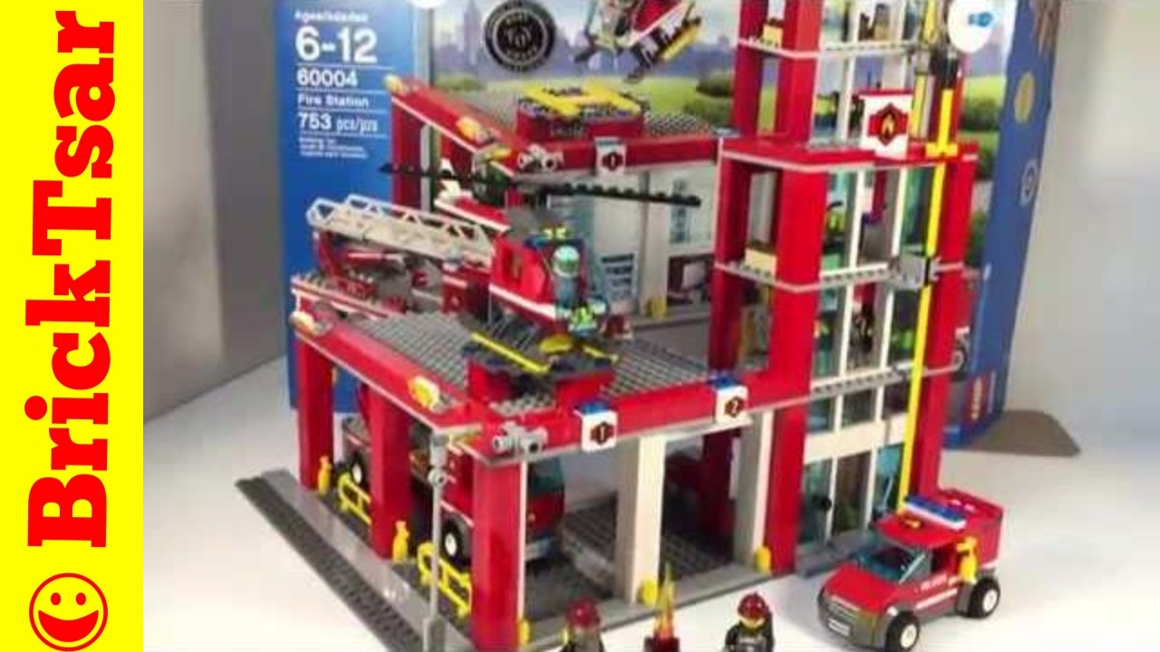 Lego City 60004 Fire Station From 2013 Youtube