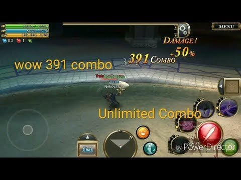 Aurcus Online - Build skill + sc samurai job [Unlimited Combo]