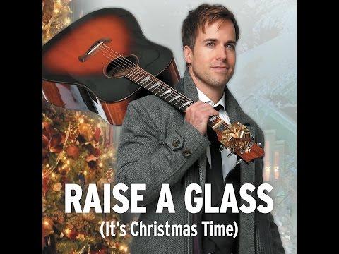 RAISE A GLASS Lyric Video - LUKE McMASTER