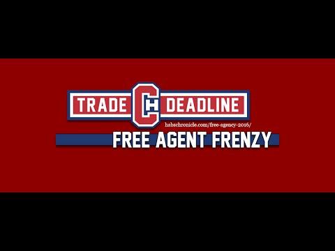 Habs Chronicle - Free Agent Frenzy 2016