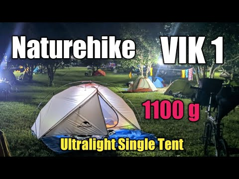 Naturehike VIK Series 2019 Ultralight Camping Tent For 1 Person Tent