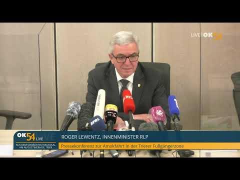 LIVE: Pressekonferenz zur Amokfahrt in Trier (19:00 Uhr, live aus dem Rathaus)