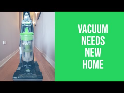 BISSELL Powertrak® Pet vacuum cleaner in search of home with pets!