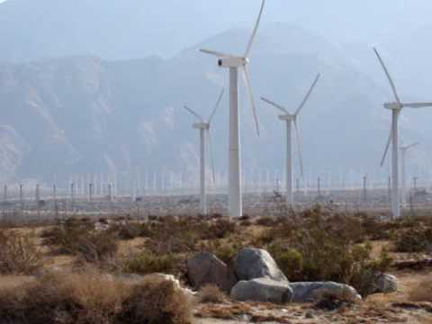 Wind Power Farm Tour Palm Springs California