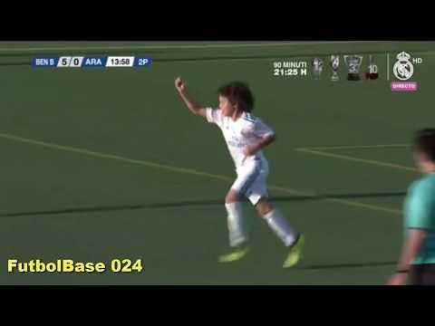 El hijo de Marcelo debuta en el benjamín B del Real Madrid