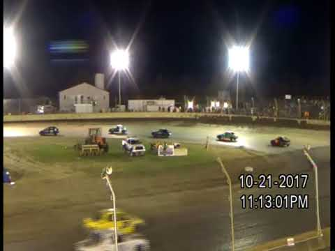10-21-17 KOKOMO SPEEDWAY, IN  KOKOMO KLASH 11,  HORNET - B FEATURE 1