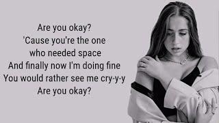 Tate McRae - r u ok (Lyrics)